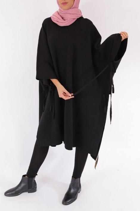 Poncho Maribel Noir