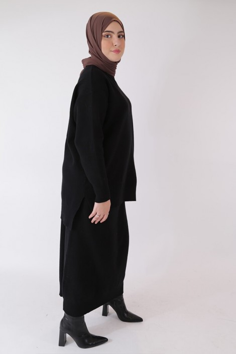 Jupe Hafeeza- Noir