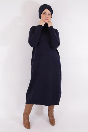 Pull Aby Bleu marine pas cher & discount