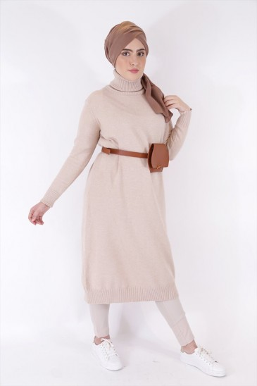 Pull Aby Beige pas cher & discount