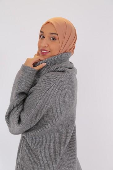 Pull Liah Gris foncé pas cher & discount