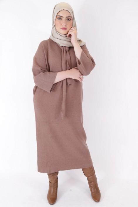 Robe Pull Anoushka Taupe