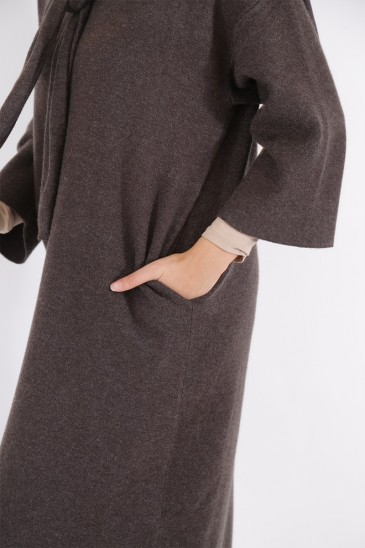 Robe Pull Anoushka Gris anthracite pas cher & discount