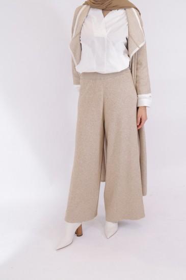 Pantalon Noreen Beige pas cher & discount