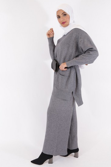 Pantalon Noreen Gris pas cher & discount
