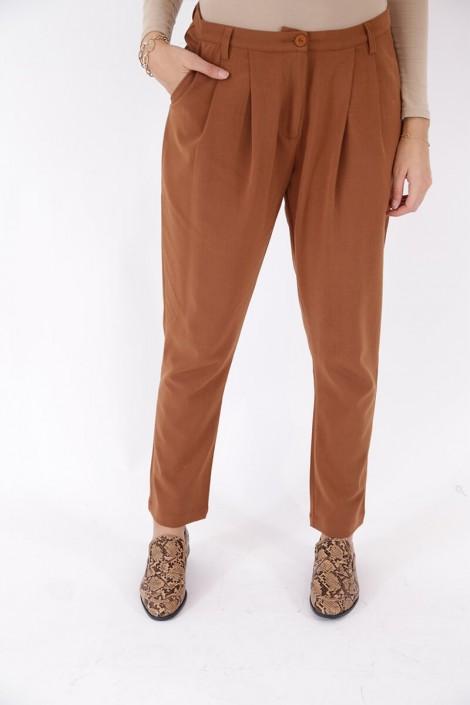 Pantalon Madison Couleur Cuivre