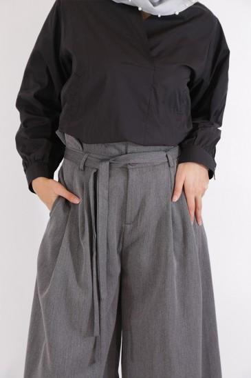 Pantalon Amael Gris Anthracite pas cher & discount