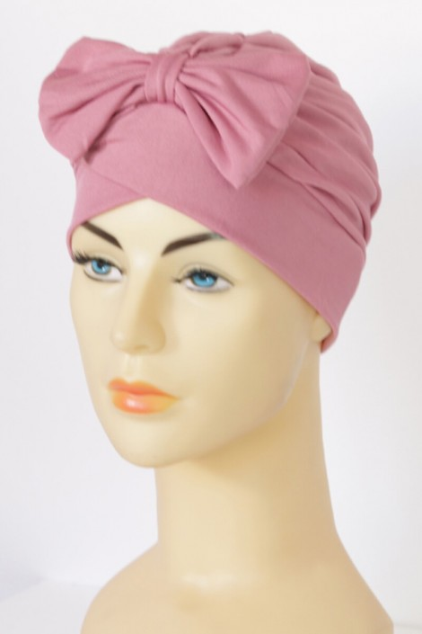 Turban Noémie - Rose balai