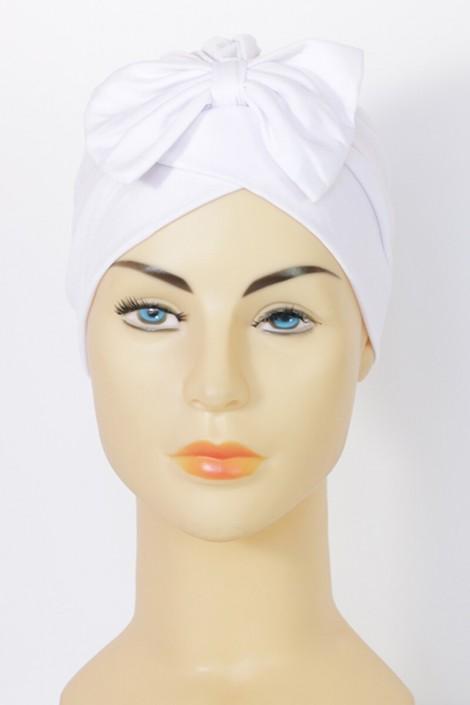 Turban Noemie- blanc