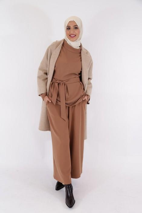 Pantalon Eva Camel