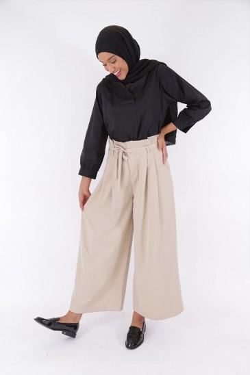 Pantalon Amael Beige pas cher & discount