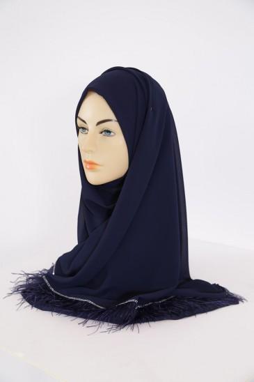 Hijeb Aya Bleu Marine pas cher & discount