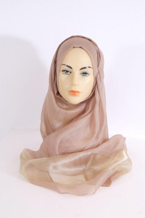 Hijeb Organza Marron
