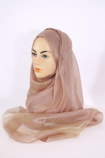 Hijeb Organza Marron pas cher & discount
