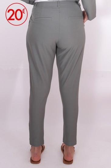 Pantalon Loane Vert de gris pas cher & discount
