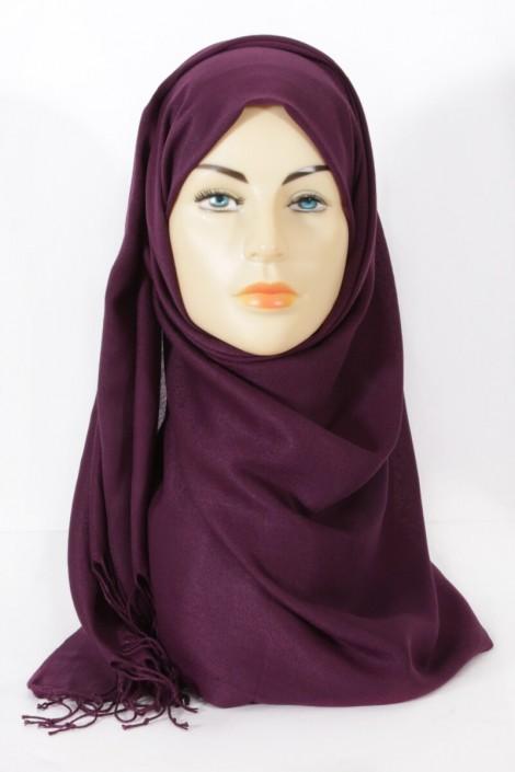 Hijeb pashmina royal - aubergine