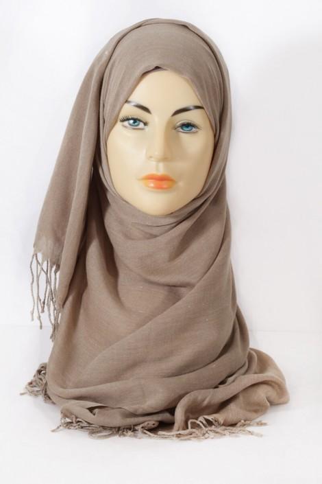 Hijab Hijab Pashmina royal - Grège