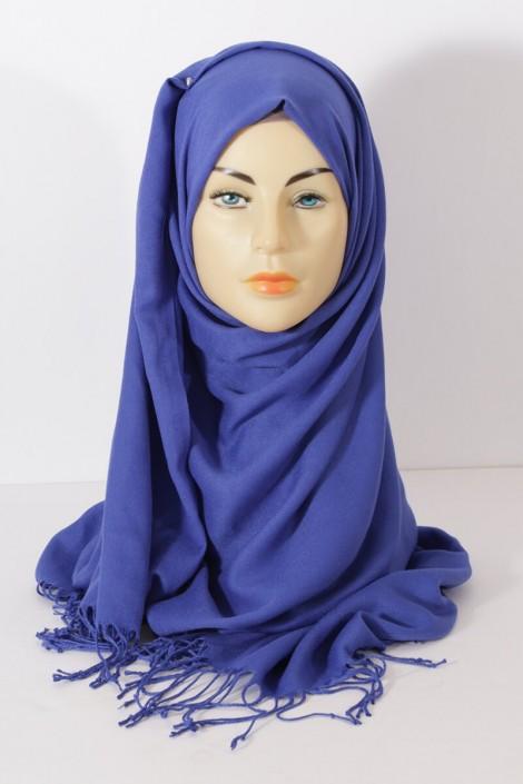 Hijab Pashmina royal - Majorelle