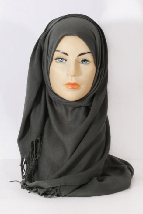 Hijab Pashmina royal - Tons Vert - Kaki