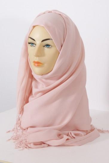Hijab Pashmina Royal rose perle pas cher & discount
