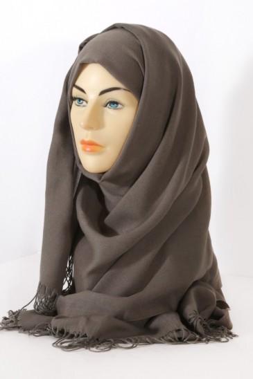 Hijab Pashmina Royal gris souris pas cher & discount