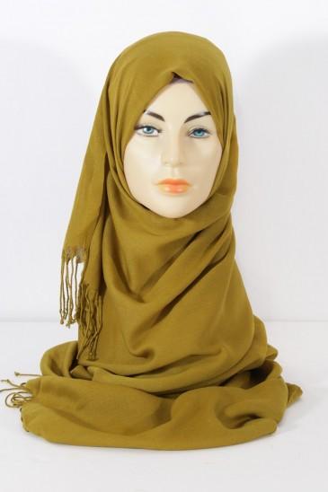 Hijab Pashmina Royal Vert Olive Vert Olive pas cher & discount