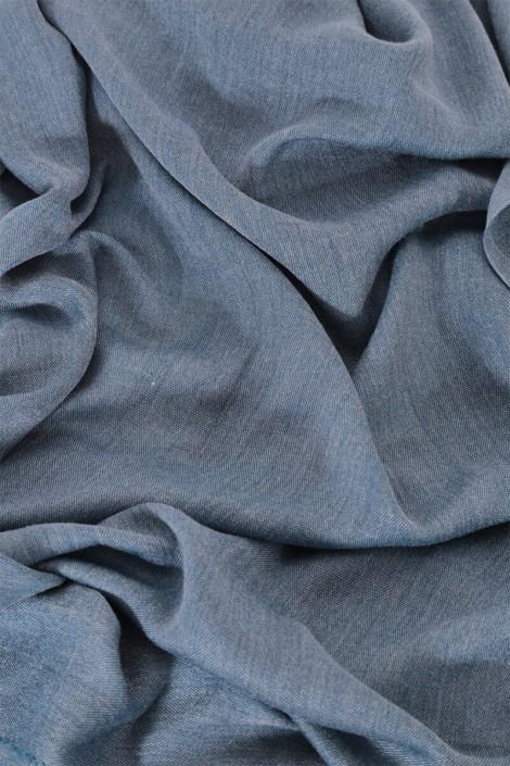 Hijab Pashmina royal- Bleu Océan