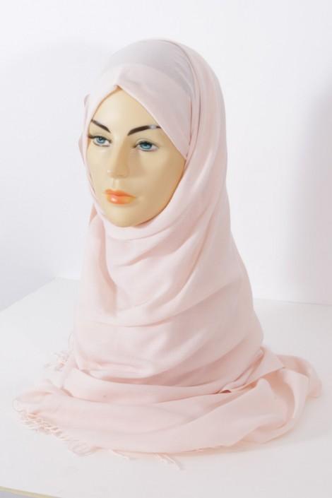 Hijab Pashmina royal- Nude