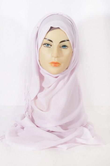Hijab Pashmina royal- Rose pale