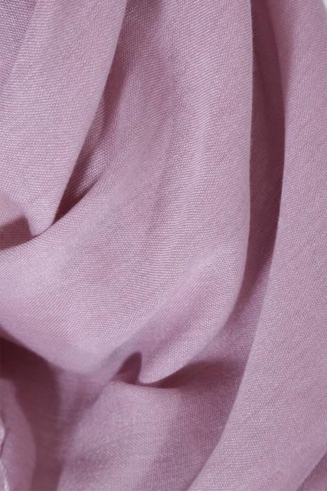 Hijab Pashmina royal- Rose parme