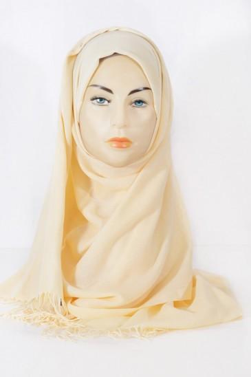 Hijab Pashmina Royal-Pamplemousse pas cher & discount