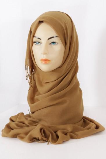 Hijab Pashmina royal-Tabac pas cher & discount