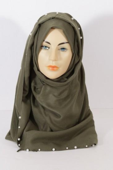 Hijeb Pearl Kaki pas cher & discount