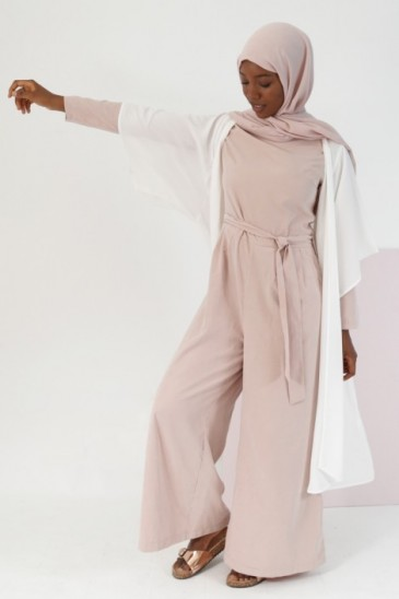 Kimono Denya Blanc pas cher & discount