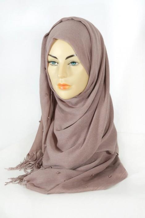 Hijab Pashmina Perle Pralin