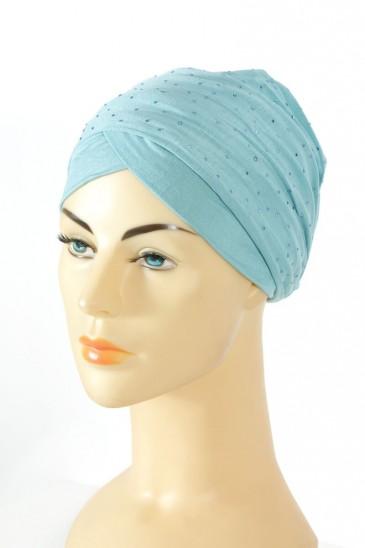 Turban Minelli- Bleu ciel pas cher & discount