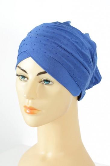 Turban Minelli- Bleu roi pas cher & discount