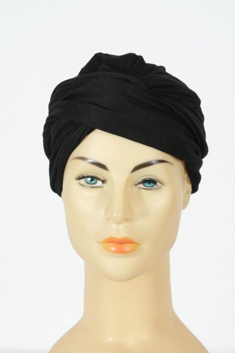 Turban alexia - Noir