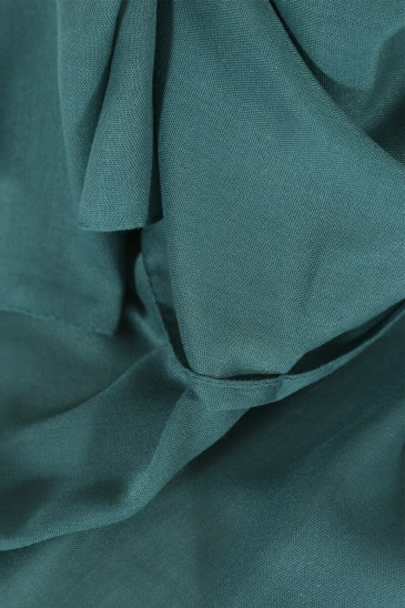 Hijab Pashmina maxi - Vert Canard pas cher & discount