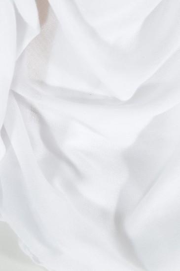 Hijab Pashmina Maxi Blanc pas cher & discount