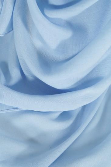 Hijab Pashmina Maxi bleu pas cher & discount