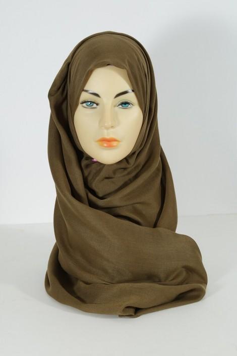 Hijab pashmina maxi-vert olive