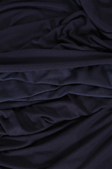 Hijab Mervé- Prêt à enfiler - Bleu nuit pas cher & discount
