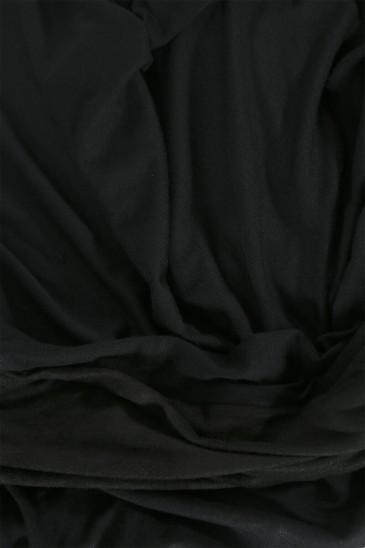 Hijab Mervé - Prêt à enfiler - Noir pas cher & discount
