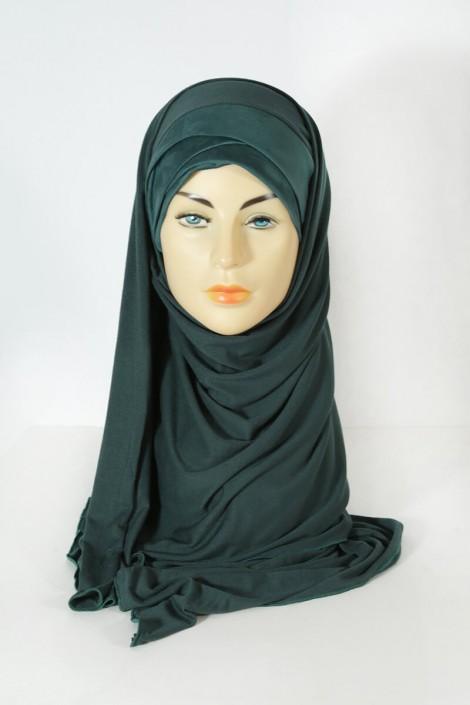Hijeb Mervé - Prêt à enfiler - vert sapin