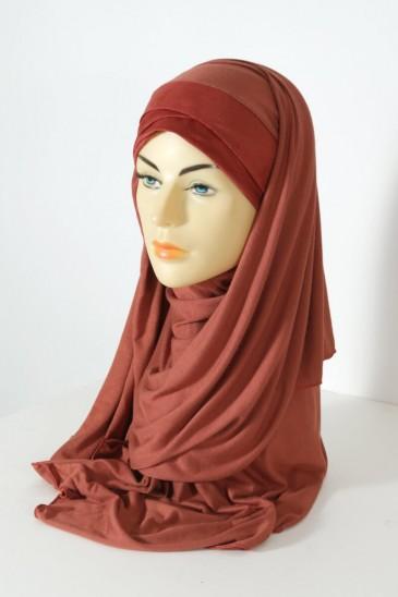 Hijeb Mervé - Prêt à enfiler - Rouille pas cher & discount