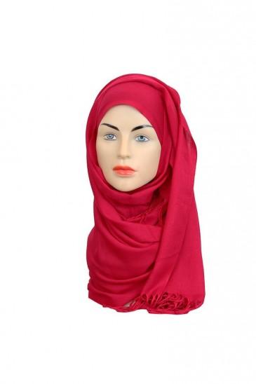 Hijab Pashmina Royal maginta pas cher & discount