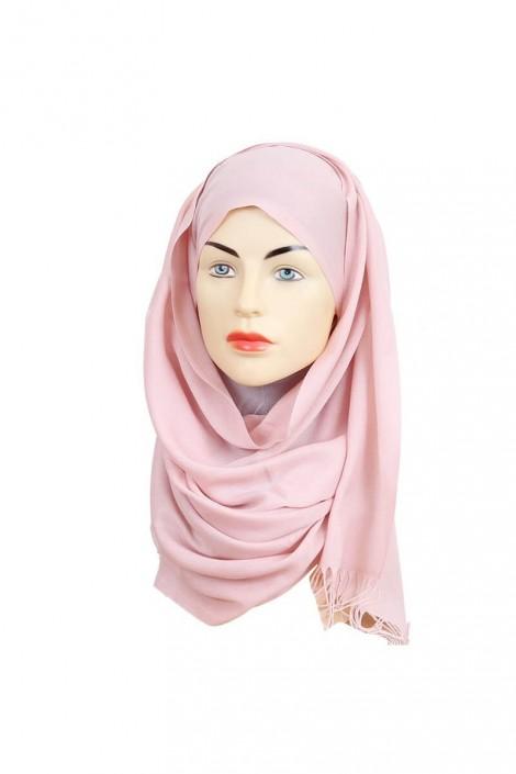 Hijab Pashmina Royal rose