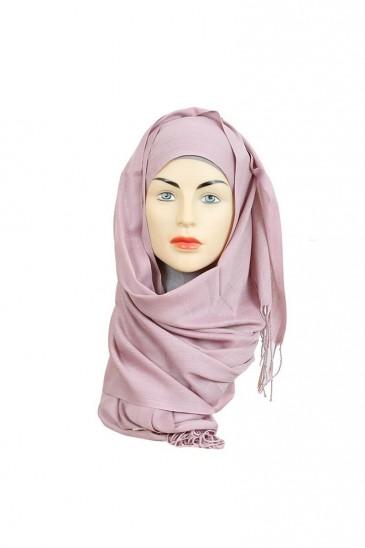 Hijab Pashmina Royal vieux rose pas cher & discount