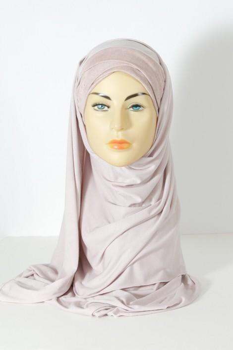 hijab Mervé- Rose pale